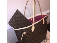 Louis Vuitton Neverfull MM bag