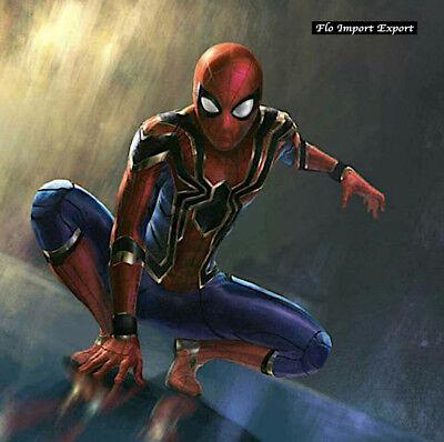 Spiderman Gold Karnevalskostüme Animation Herren Kleid up Cosplay Kostüm SPM006