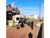 Enthusiastic weekend Staff required for beach front Coffee & Crepe stall