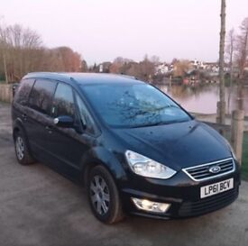 Ford Galaxy ready for UBER.