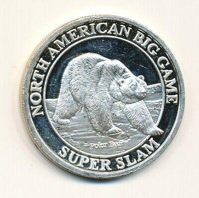 Polar Bear Game (NORTH AMERICAN BIG GAME POLAR BEAR 1 ONE OUNCE 999 SILVER)