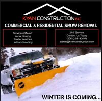 Snow Removal Services - Residential + Commercial