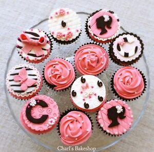 Cakes and cupcake toppers.