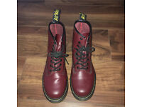 Cherry Red Dr Martens - size UK 6