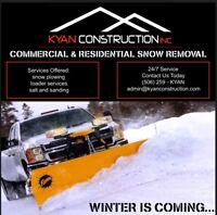 Snow Removal - Commercial & Residential