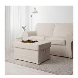 IKEA Ektorp Loveseat & Foot Stool