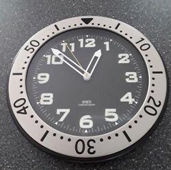 Sports Chronograph Glow in the Dark 12 Wall Clock