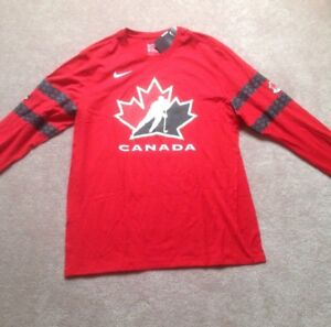 Long  sleeve Nike Canada T-shirts. Size L and XL