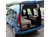 2007 Renault Kangoo 1.6 / CAMPER VAN / FULLY EQUIPPED / SLEEPER / MOTORHOME / ONLY £4750