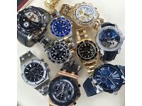 Big Brand watch buy (breitling , omega , rolex, tag heuer, cartier, hublot, iwc, panarei)