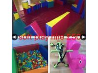 Soft play-mascots-bouncy castles-candy floss machine