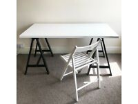Dining table - up to 6 seats + free chair