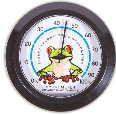Fluker Reptile & Amphibian Terrarium Hygrometer Relative Humidity Gauge