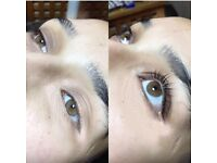Lvl lash lift and tint