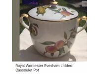 Job lot Royal Worcester Evesham
