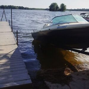 16 ft Thundercraft with motor and trailer