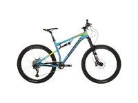 Boardman Pro Full sus suspension mountain bike NEW size medium