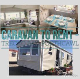 Caravan to Hire - Trecco Bay