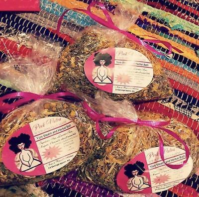 Pink Vulva Yoni Steam Herbal Bath 100% Organic Cleansing, Detoxifying, Aromatic