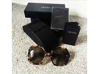 Brand new prada sunglasses tortoiseshell new with box and tags