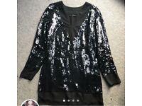 Karl Lagerfield cream dress - Size 8