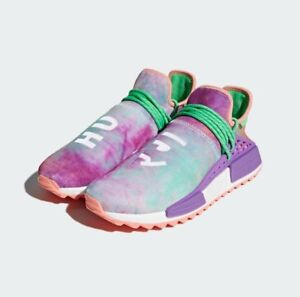 """Adidas Human Race - Coral """"Holi Pack"""" - Size 9.5 - VNDS"""