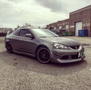 2006 Acura RSX with a lot of aftermarket upgrades