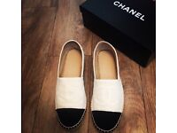 Chanel espadrilles deadstock