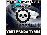 New and partworn tyre