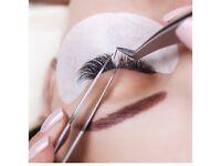 Semi permanent eyelashes. 3D lashes,russian volume.Freelance eyelash technician
