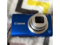 Canon blue camera
