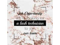 Lash Technician wanted