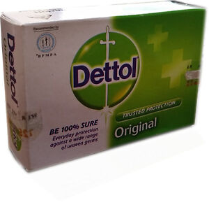 Buy 5 Get 2 Free 125g Dettol Original Soap Trusted Protection Skin Care Germs BA