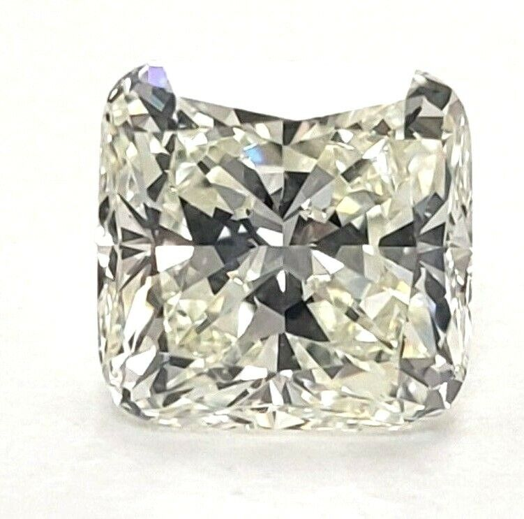 0.72 CT Natural Loose Diamond GIA Certified H Color SI2 Clarity Cushion Cut
