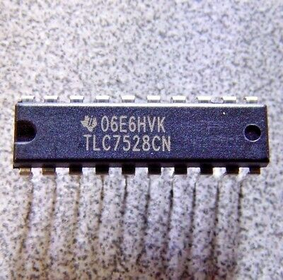 Tlc7528cn - Digital To Analog Converter 8 Bit 10 Msps K