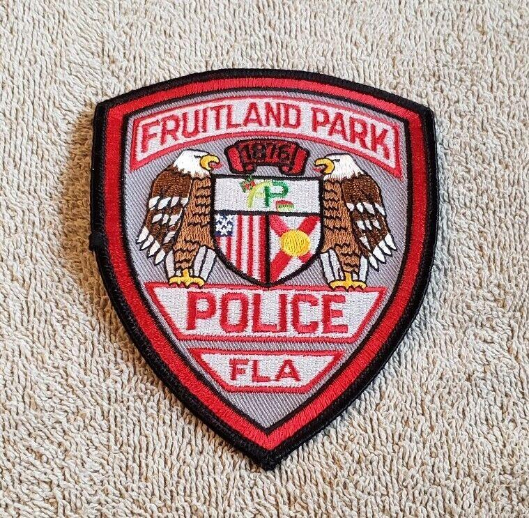 Fruitland Park Florida Police Shoulder Patch