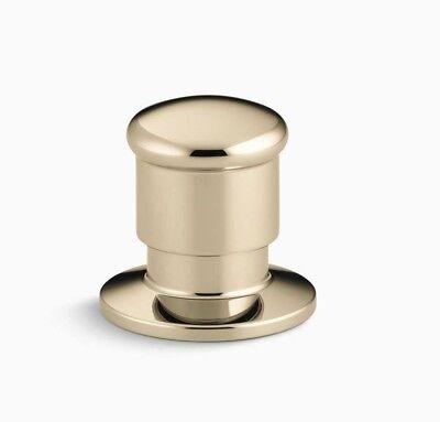 Deck Mount Diverter - KOHLER K-9530-AF Vibrant French Gold Deck-Mount Two-Way Diverter Valve