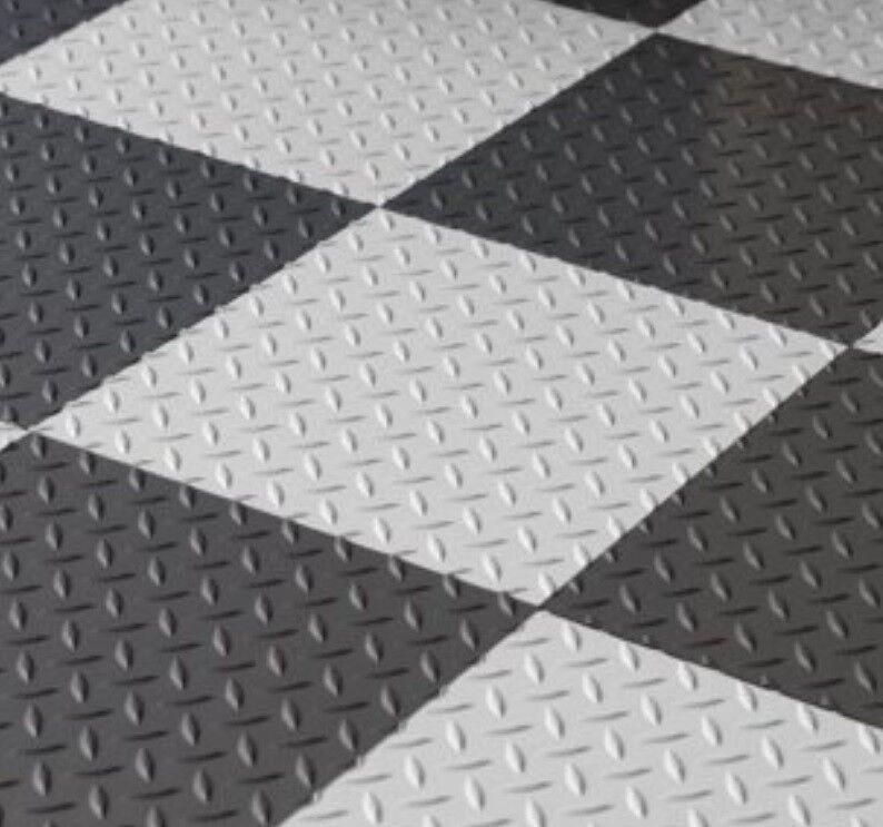 Garage Flooring Peel And Stick Tiles Best Grey Basement Viny