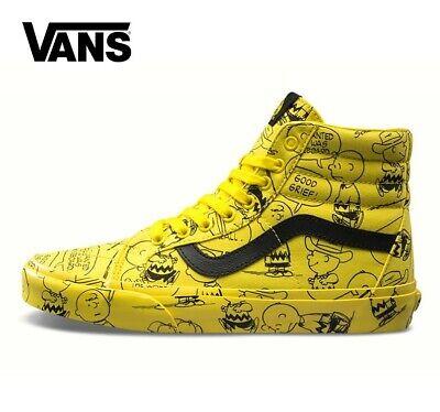 2020 Vault X Peanuts Snoopy Vans Old Skool Sk8-Hi Mens Designer Sports Skate Sho