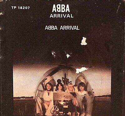 Arrival ABBA 1976 Warner Comm 8 Track Stereo Tape Cartridge POP / Soft Rock VGC