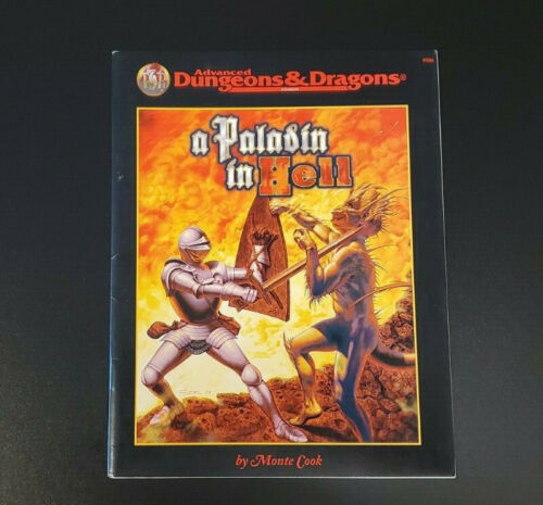 AD&D Module - A Paladin in Hell - Dungeons and Dragons - TSR 9586 - Excellent