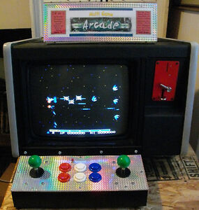 19 in 1 COUNTER TOP ARCADE VIDEO GAME