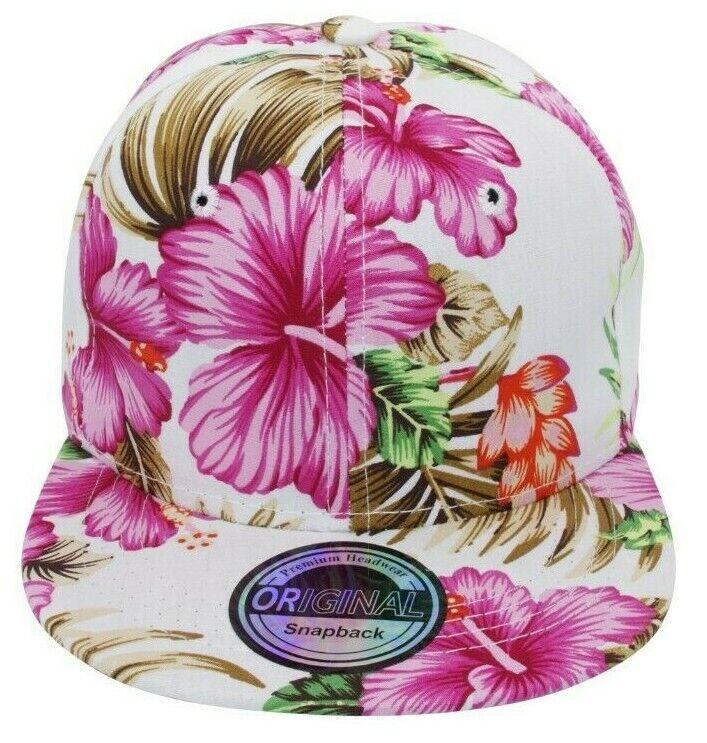 Damenkappe Cappy Kappe Cap Hip Hop Basecap Damen Freizeit Hut Plain Hawaii pink