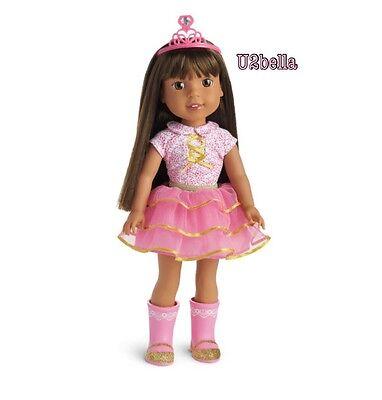 """American Girl Wellie Wishers Ashlyn 14.5"""" Doll WELLIEWISHER NEW IN BOX"""