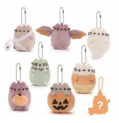 "Gund 3"" Plush PUSHEEN HALLOWEEN KEY CHAIN Blind Box Series #1 ~1 SURPRISE NEW~"