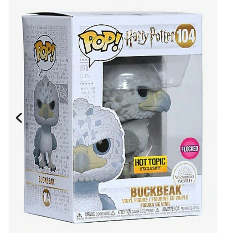 Funko Pop Movies Flocked Fwooper Collectible Figure Multicolor