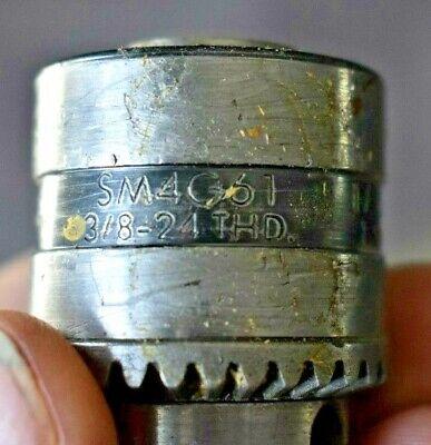 Jacobs Sm4g61 Drill Or Lathe Chuck 38-24 Thd 116-38 Cap 1.5mm-10mm Cap -usa-