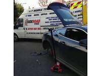 Tyre fitting /24/7 mobile