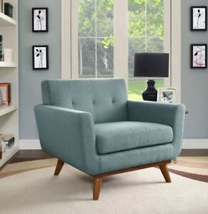 BRAND NEW JOHNSTON UPHOLSTERED ARM ACCENT CHAIR