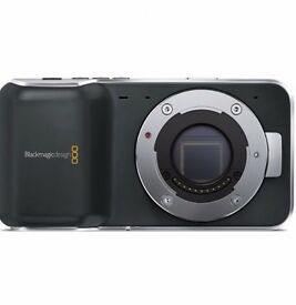 Blackmagic pocket camera